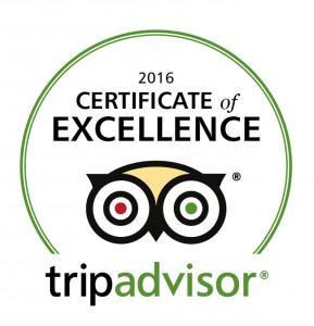 Kudu Ridge Game Lodge TripAdvisor Certificate